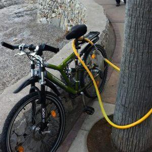 fietsslotoverzadel