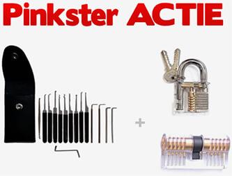 Lockpick actie voor pinksteren